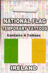 Ireland Country Flag Tattoos.